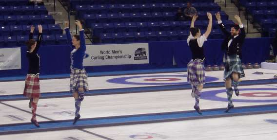 Highland Dance Boston At The World Curling Championship 2006